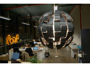 Death Star for Ikea lamp (PS 2014)