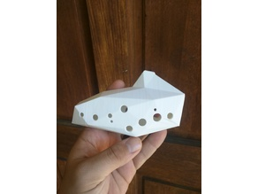 Low poly 12 Hole Ocarina - No supports needed
