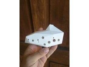 Low poly 12 Hole Ocarina - No supports needed