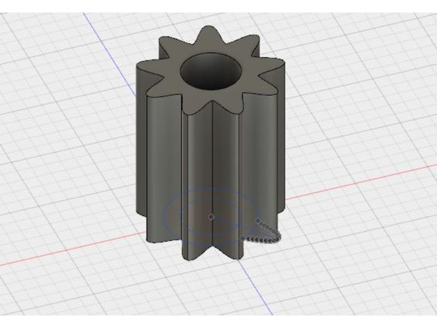 Gear For Lego Duplo Train Motor By Fixoid Thingiverse