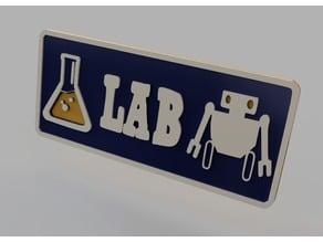 Lanius Lab Sign