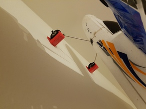 Bixler 3  plane wall mount