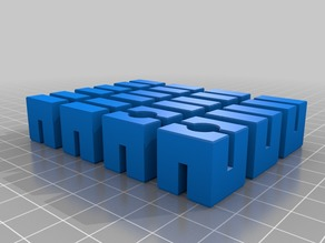 My Customized Elastic Cubes Puzzle Therapy - 18mmcubes