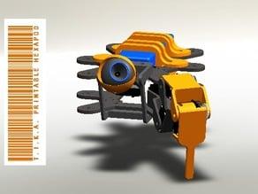 Hexapod Robot printable +/-400x450mm