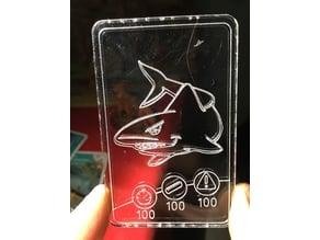 Lasercut - Shark Card