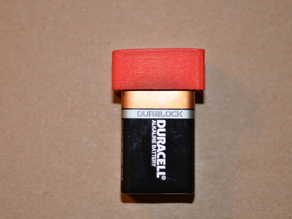 9V Battery Survival Safety Cap