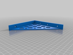 150mm shelf bracket - first mix