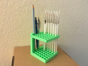 Cubistand Pencil Pen Brush Holder Stand