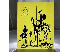 Don Qixote by Pablo Picasso