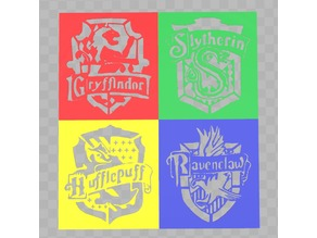 Harry Potter Themed Stencils