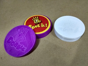 Dobble / Spot It Card Game Case / Flexible Material