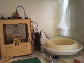A Sturdier and Still Cheap Filament Turntable