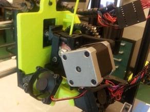 Lulzbot TAZ5 to Mini adapter