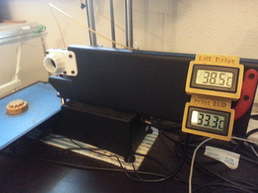 Mission Control >> Temperature Monitor for extruder motor and print bed (etc)