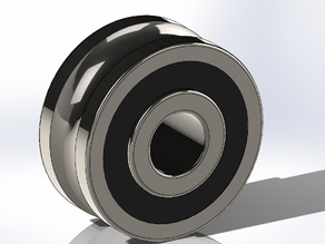 Grooved track Roller Bearing