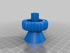 Syringe Disposal Bottle Cap (or Fly Trap) v1