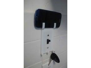 Light Switch Cover + Phone & Keys Holder
