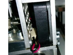 Leapfrog 3mm fan spacer 40x40