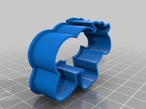3DNrj.com Moose Small Cookie Cutter