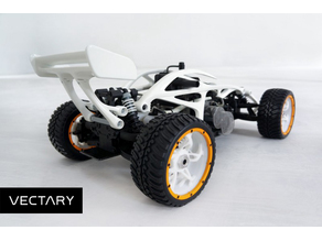 vectBuggy - RC buggy redesign