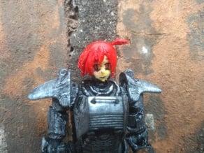 Fallout Joe Anime Doll Head