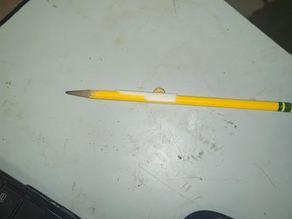 David Copperfield magic trick. Pencil through dollar