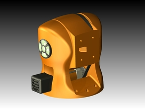 Printable Robot Arm - orange version
