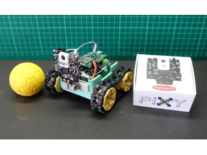 SMARS modular robot + Pixy2