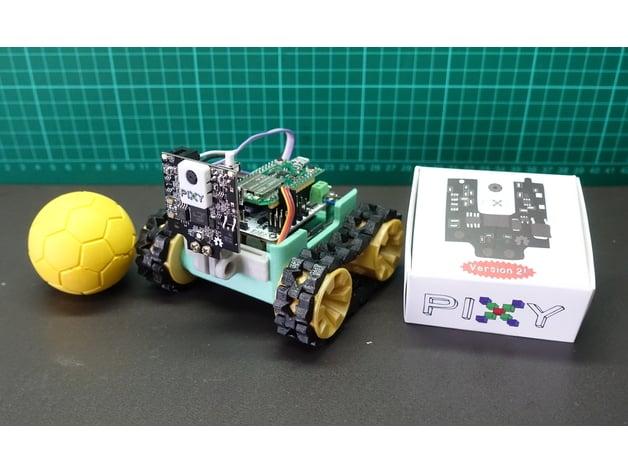 SMARS modular robot + Pixy2 by ShinWeiChiou - Thingiverse