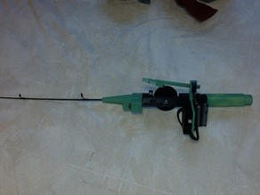 Ice Fishing Pole with Automatic Jigging Action!!!