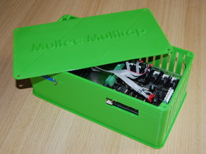 Power Supply Housing for Printer Electronics
