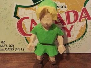Link from Zelda OOT Nintendo 64