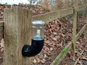 Pasta Jar and Gutter Pipe Light