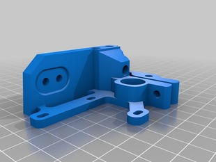 Extruder YRUDS MK7 3mm - for Prusa / Mendel / BiBONE