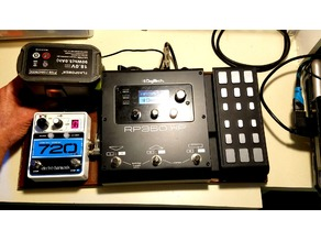 Guitar Pedal Board Battery Power Supply