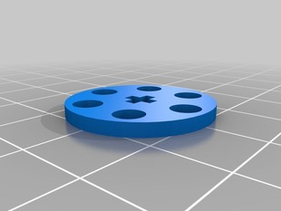 Bitbeam - Shaft Encoder Wheel