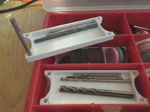 rotary-tool tool trays