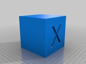 Big Ass 100mm Vase Calibration Cube