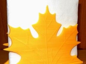 Napkin holder  Leaf fall