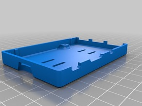 RaspBerry Pi Delta 2020 rail mount for case design by Normand