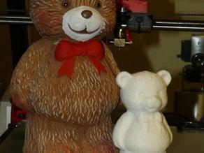 Bear shaped piggy bank