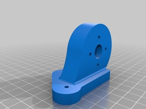 3D Printer CNC Motor Mount