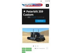 SimplePlanes Peterbilt 359