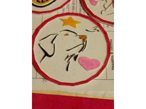 Labrador themed coaster