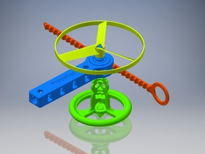 Propeller & Spinning Top Launcher