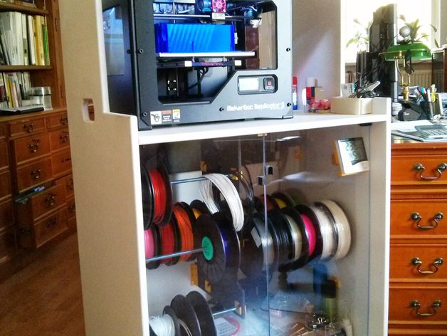 Cabinet For Printer Dry Storage For Filament With Easy