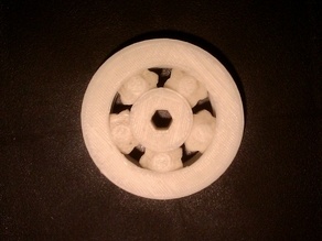 Experimental Roller/Gear Hybird Bearing