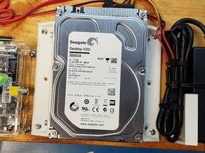 "Bracket: 3.5"" hard drive to wood panel"