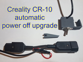 Creality CR-10 automatic power off upgrade
