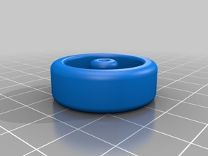 Pinewood Derby wheel (unofficial)